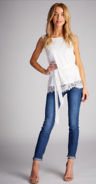 LUNA SLEEVELESS TOP