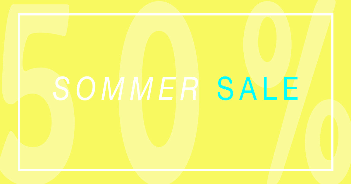 BIG SOMMER SALE!! 50% Rabatt!