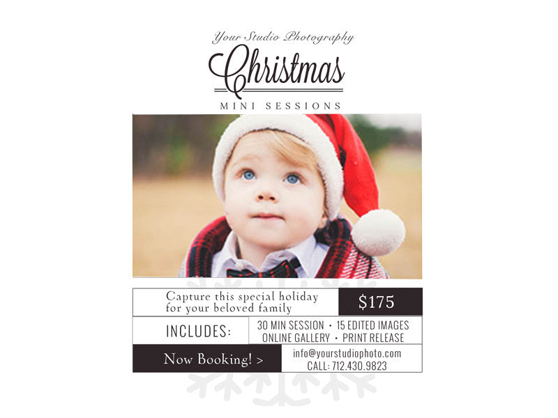 Weihnachts Mini Session Marketing Bundle!!