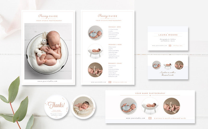 Baby Marketing Set für Fotografen
