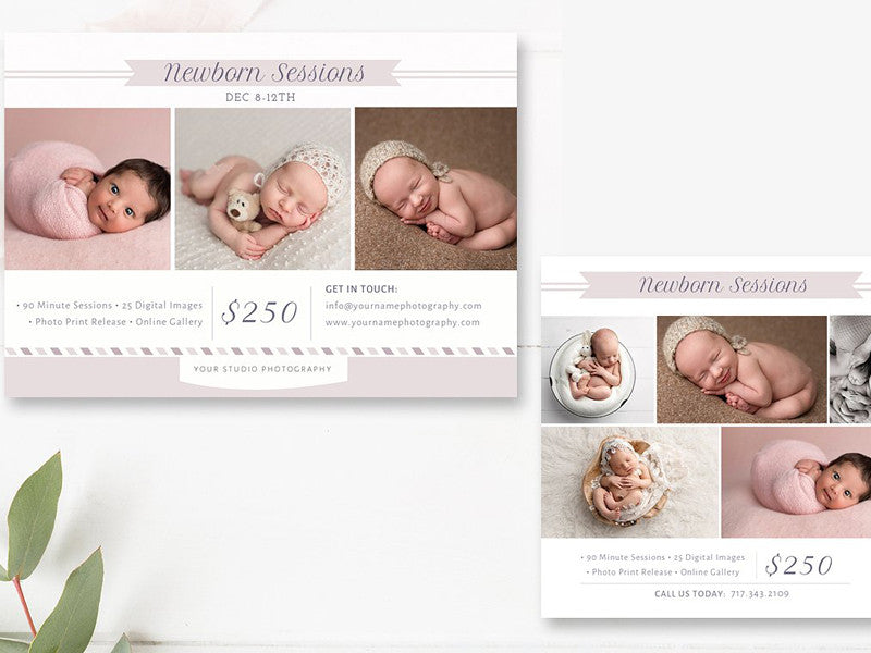 Baby Marketing Set II für Fotografen