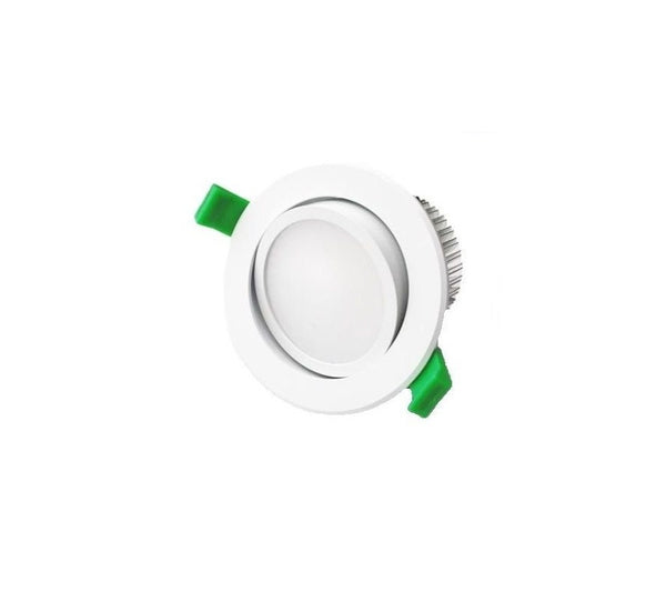 3A 15W Samsung Chip LED Gimble Downlight 90mm Cutout