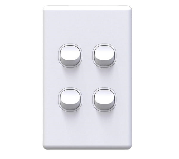 NLS 4 Gang Light Switch