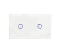 Bluestar 2 Gang 1 Way Touch Light Switch