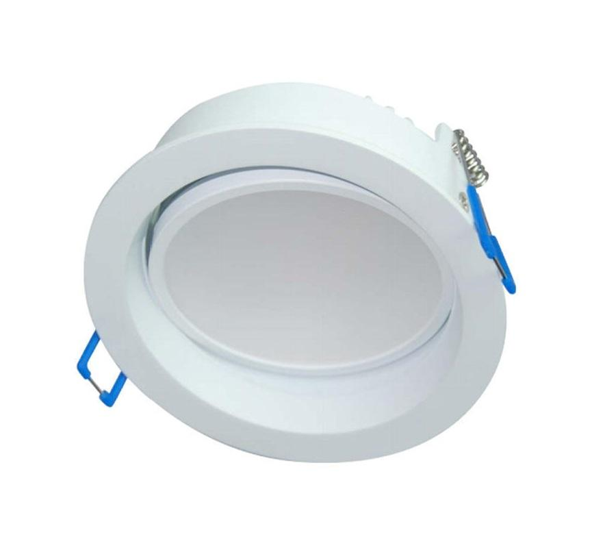 3A 13W LED Recessed Gimble Downlight Dimmable 90mm Cutout