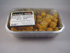 Crispy Cube Potatoes