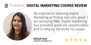 Digital Marketing Course Is Helping Me Build My Career | Review | MBA Student