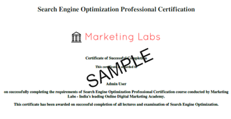 Digital Marketing Master Program