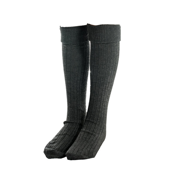 Socks - Grey Knee High
