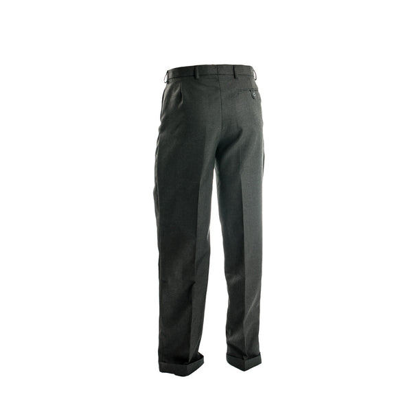 Grey Senior Long Trousers