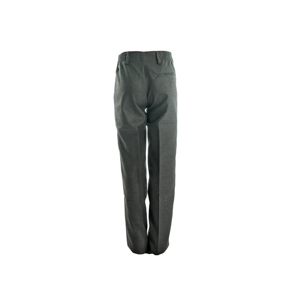 Grey Prep Ruched Trousers -