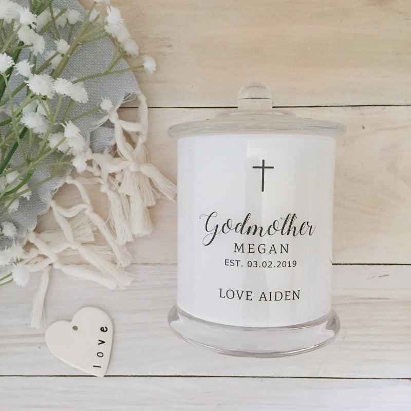 Simple Cross Godparent