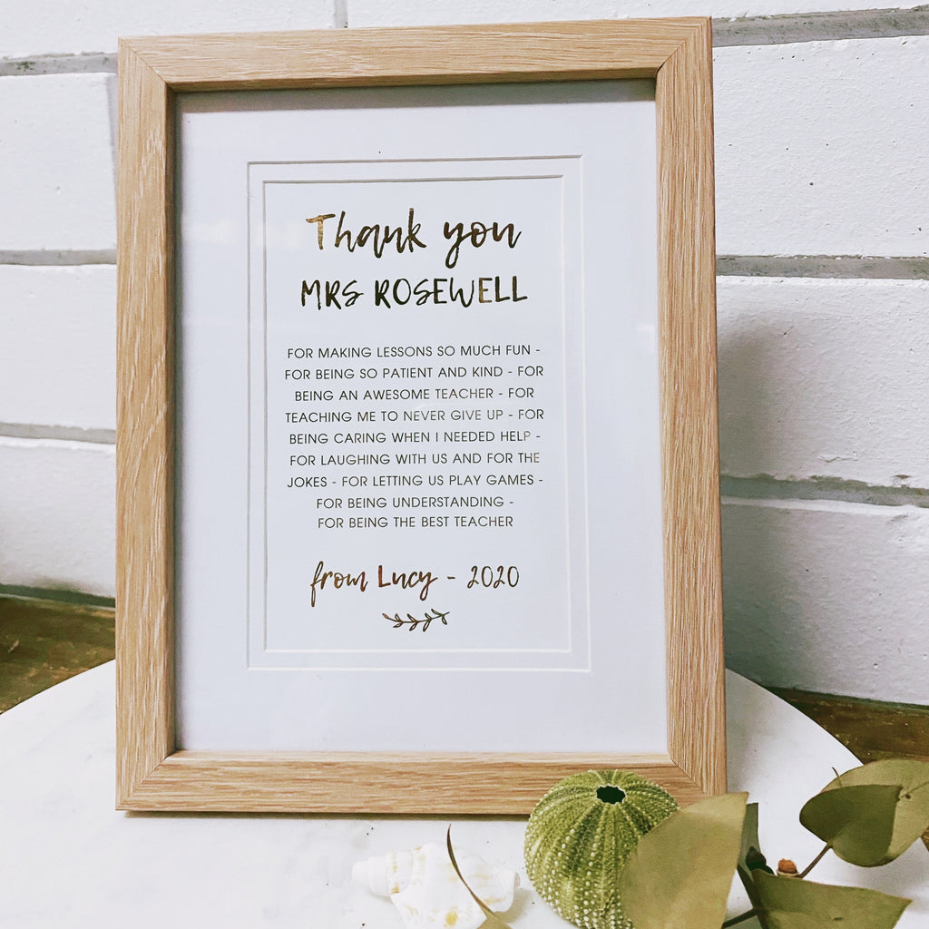 Thank You Photo Frame