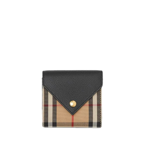 Brand New Burberry Tri-fold Wallet Vintage Check