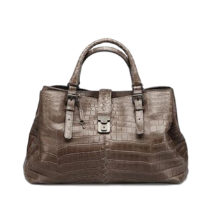 Brand New Bottega Veneta Roma Crocodile Handbag