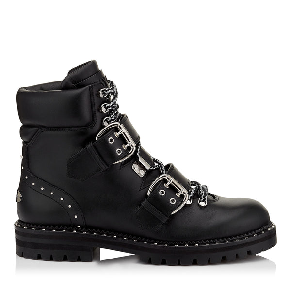 Brand New Current Season Jimmy Choo Black Breeze Boot 37.5