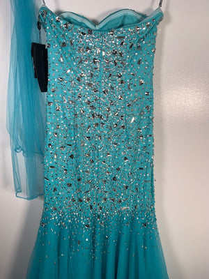 Brand New Dynasty London Arabella Gown Size 6