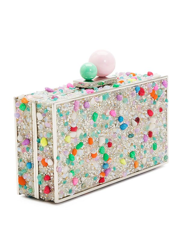Brand New Sophia Webster Clara Lollipop Box Clutch