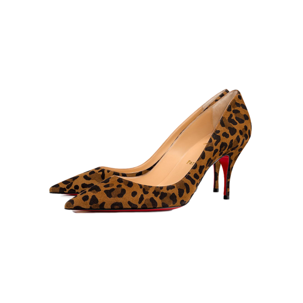 Brand New Christian Louboutin Clare Veau Velours Rio 37