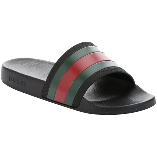 Mens Gucci Web Sliders Size UK 11