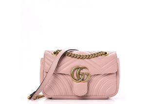 Brand New Gucci Marmont Mini Bag Light Pink