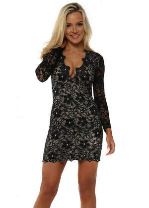 Holt Eli Lace Dress Size 6-8 UK