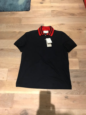 Brand New Men's Gucci Web Polo Shirt XL