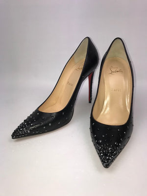 Christian Louboutin Degrastrass Kid Hematite 39.5