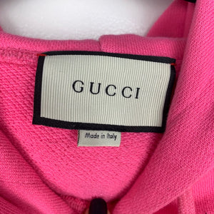 Gucci Oversized Applique Hoody Large