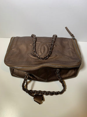 Chanel Bronze CC Handbag