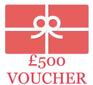Prizedraw Tickets For A £500 Gift Voucher