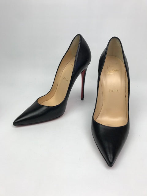 fc00ca1470a Christian Louboutin So Kate Black Kid 39
