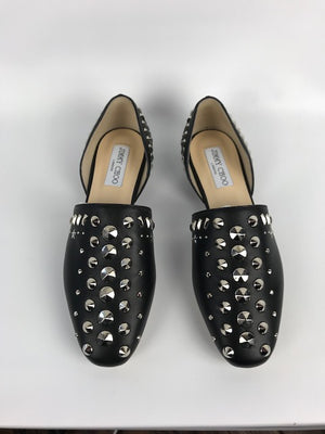Brand New Current Season Jimmy Choo Globe Flats 37
