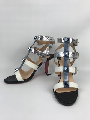 Brand New Christian Louboutin Rocknbuckle Sandals 40.5