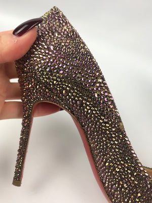 Christian Louboutin Fifi Strass Pumps 37.5