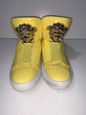 Versace Yellow Medusa Head Sneakers 39