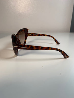 Tom Ford Bardot Tortoishell Sunglasses
