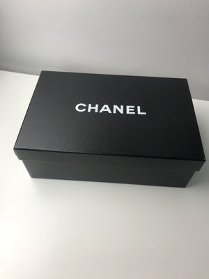 Brand New Chanel Black Quilted Sliders 39