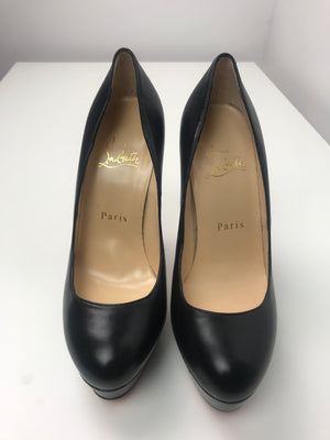Brand New Christian Louboutin Bianca Kid Black 36