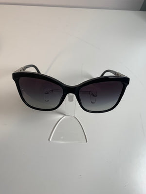 Bvlgari Black Crystal Sunglasses