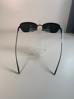 Brand New Chanel Small-Frame Black Sunglasses 4254