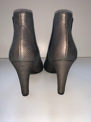 Brand New Chanel Metallic Ankle Boot 41