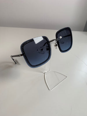 Brand New Chanel Sunglasses Dark Blue 4244 (Does not come with chain)