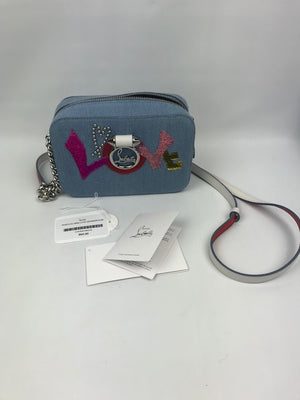 Prize-Draw Tickets For Brand New Christian Louboutin Rubylou Mini Love Bag