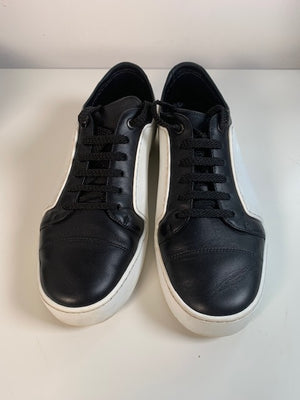 Chanel Black & White Sneakers 39