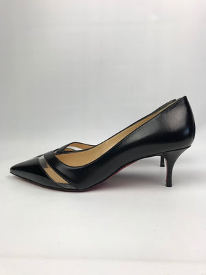 Brand New Christian Louboutin 17th Floor Black 39.5