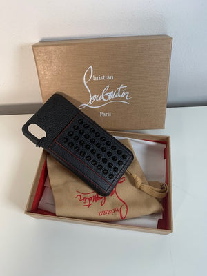 Brand New Christian Louboutin Loubiphone Kios Iphone Case X/XS