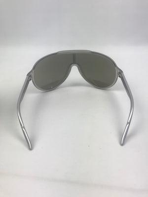 Gucci Mirrored Grey Aviator Sunglasses