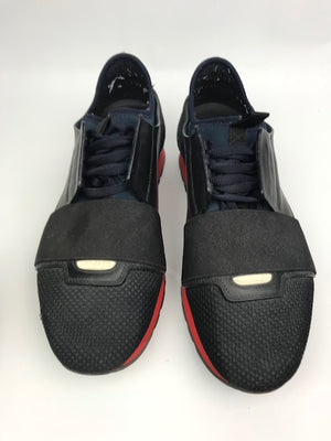 Balenciaga Runners Navy Red Suede 41