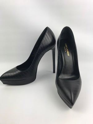 Brand New Saint Laurent Janis Pumps Black 40